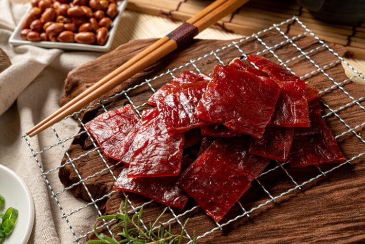蜜汁厚片豬肉乾
