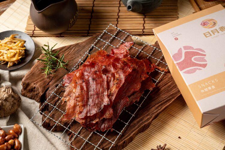 胡椒薄片紙肉乾